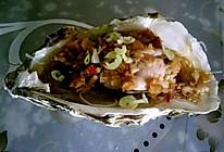 蒜蓉粉丝蒸生蚝的做法