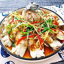 家常菜之清蒸鲈鱼
