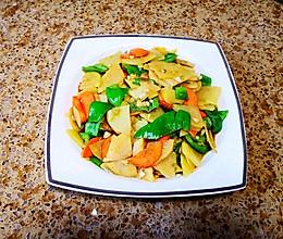 5分钟搞定的美味青椒土豆片的做法