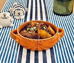萝卜牛腩煲#橄榄中国味 感恩添美味#的做法