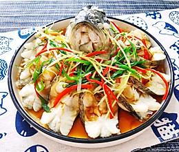 家常菜之清蒸鲈鱼的做法