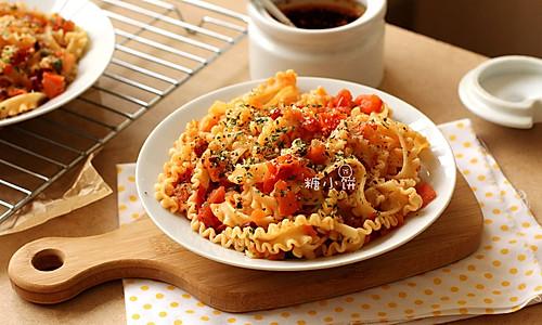 【番茄酸豆意面】地中海风味素意面的做法