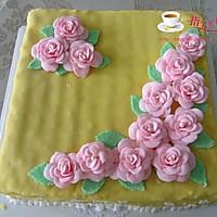 换个方式做翻糖花---翻糖蛋糕(七)---桃花盛开的做法图解56