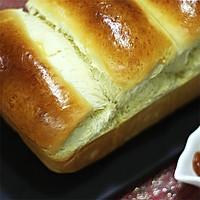 奶香味十足的吐司面包,面包机和面保证出膜的做法图解13