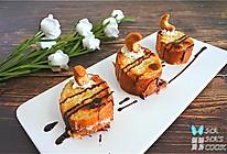 法棍脆片配鲜奶油腰果巧克力的做法