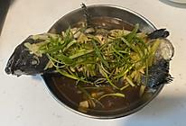 蒸石斑魚的做法