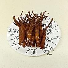 卤鸭舌(甜辣味)