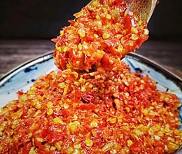 蒜蓉辣椒酱(适合各种炒菜和面条类)的做法