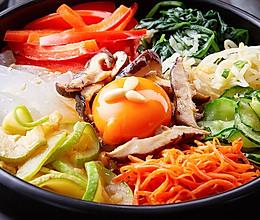 【石锅拌饭】这样做正宗的石锅拌饭,料多味浓!的做法
