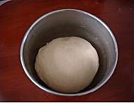 卡士达网纹面包的做法图解2