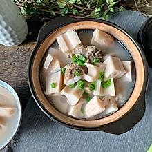 秋季润燥就喝莲藕汤