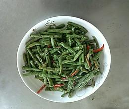 干煸肛豆的做法