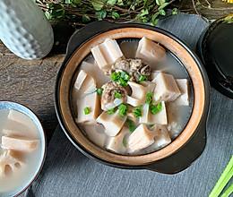 秋季润燥就喝莲藕汤的做法