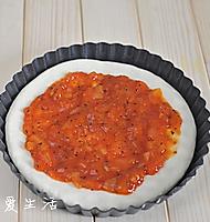 厚底鲜虾培根披萨的做法图解9