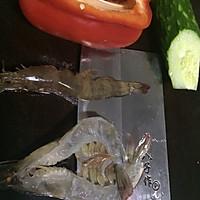 海虾乌冬面的做法图解1