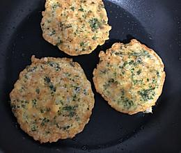 懒人餐:苋菜米饭鸡蛋饼的做法