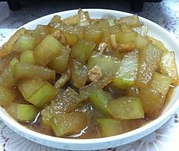 「瑶柱焖冬瓜」0脂肪塑身菜的做法