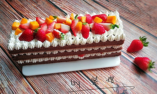 巧克力裸蛋糕的做法