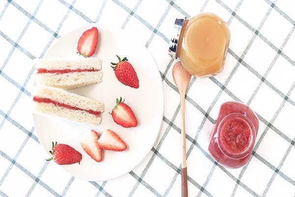 宝宝辅食微课堂  自制草莓酱