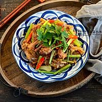 对味酱鸭#食光社干锅鸭#