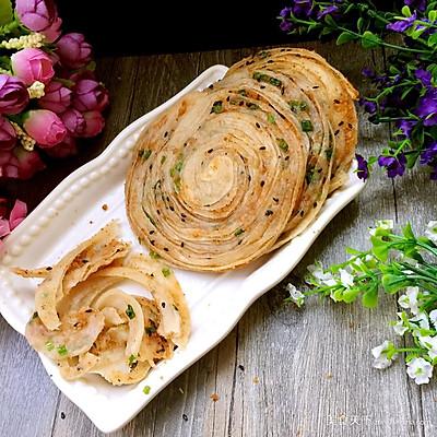 豆渣葱香酥饼