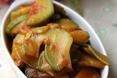 番茄小炒西葫芦