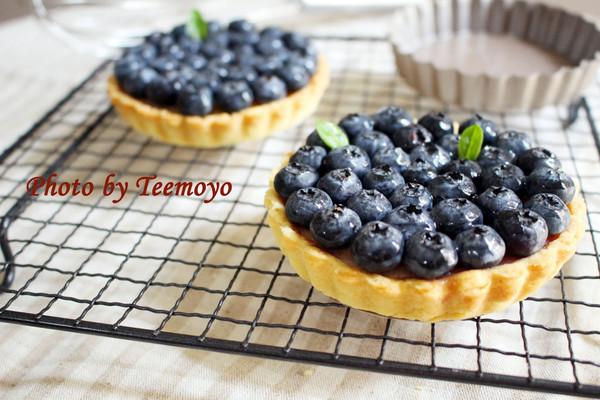 欧美风甜品——蓝莓乳酪挞
