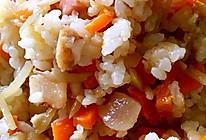 炒米饭的做法