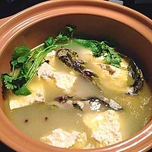 川味砂锅之豆腐黄骨鱼汤