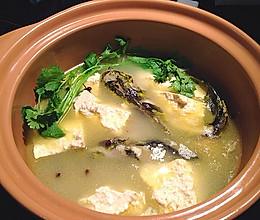 川味砂锅之豆腐黄骨鱼汤的做法