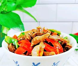 #福气年夜菜#尖椒炒鸡胗好吃又下饭的做法