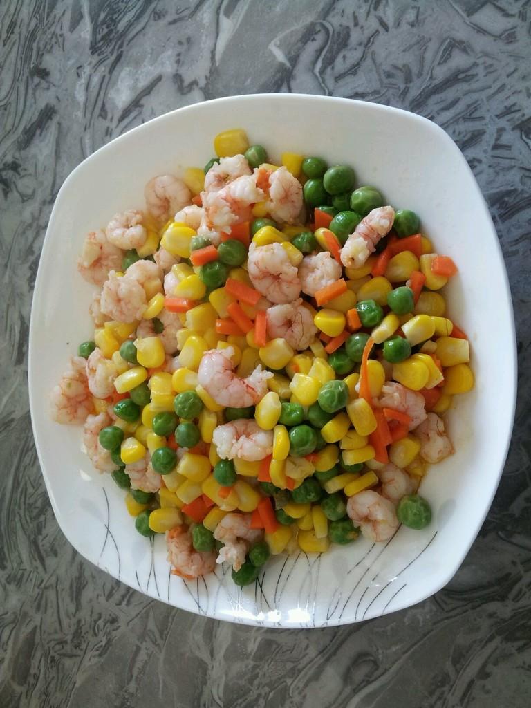 虾仁玉米的家常做法_虾仁炒三鲜的做法_菜谱_豆果美食