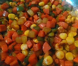 金玉满堂(胡萝卜甜玉米粒)的做法