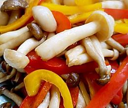 蚝油双菇的做法