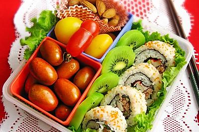 寿司饭卷便当