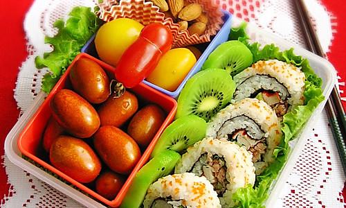 寿司饭卷便当的做法