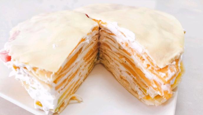 最爱的芒果千层蛋糕