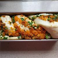 咸蛋黄香葱肉松手撕吐司的做法图解15