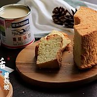 之炼乳戚风蛋糕#雀巢鹰唛炼奶#的做法图解18