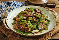 #多力金牌大厨带回家#豆豉凉瓜炒肉片的做法