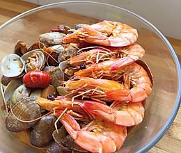 海鲜大聚会,最适合夏天的一道新手菜的做法