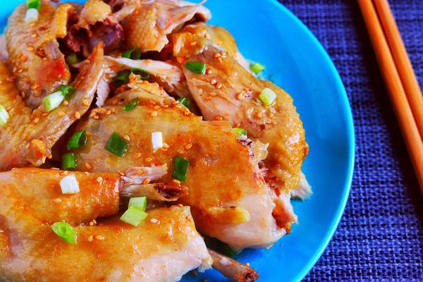 电饭锅盐焗鸡│不放一滴水