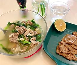 酮碗《椰香菠菜牛肉》的做法