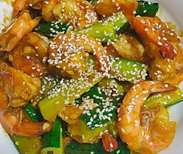 蒜香蚝油虾的做法