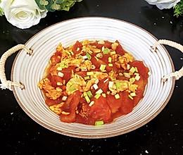 #夏日消暑,非它莫属#番茄炒蛋#如何做的与众不同的好吃的做法