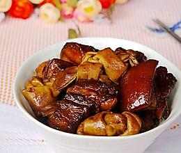 百叶结红烧肉的做法