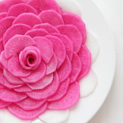 花开富贵——萝卜酸