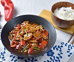辣椒炒肉|| Fried meat with chili的做法