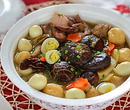 年夜饭全家团圆-全家福汤(大杂烩汤)的做法