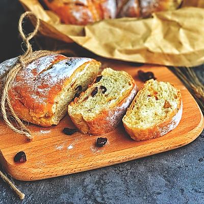 超级简单超级柔软的免揉面包